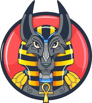 Deus egípcio anubis