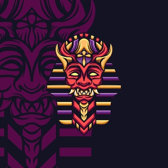 Devil king egypt para jogos de mascote