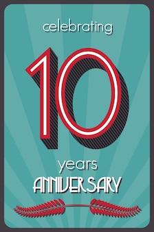 Dez anos de aniversário