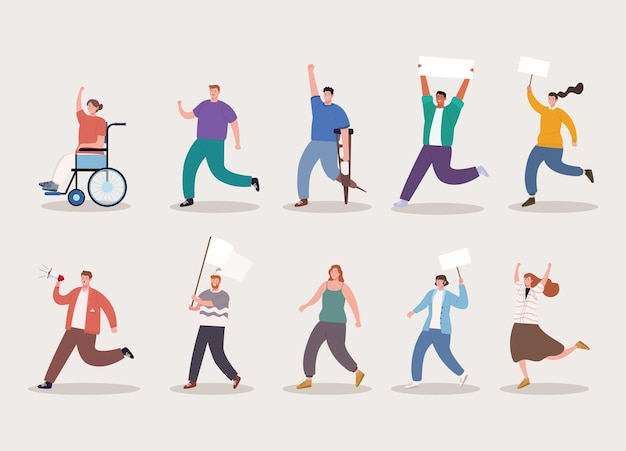 Dez personagens ativistas