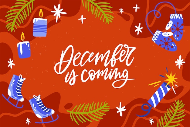 Dezembro está chegando fundo