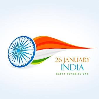 Dia 26 de janeiro república da índia