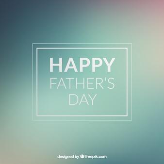 Dia cartão de mensagem do pai