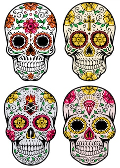 Dia da coleção dead skull