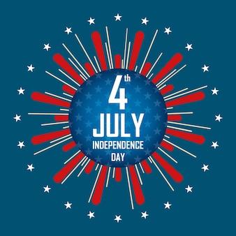 Dia da independência, 4 de julho.