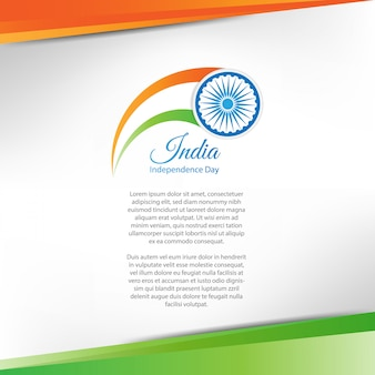 Dia da independência da índia. 15 de agosto