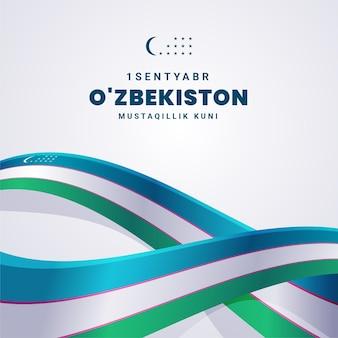 Dia da independência do evento do uzbequistão
