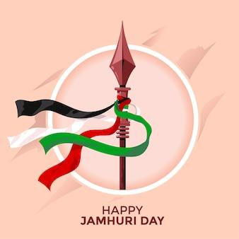 Dia da independência do quênia ou conceito do feliz dia de jamhuri