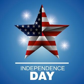 Dia da independência eua design.