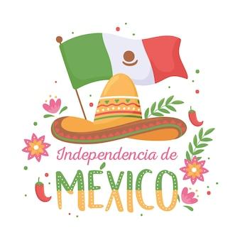 Dia da independência mexicana