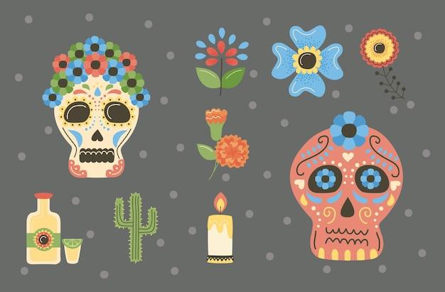Dia da morte mexicana