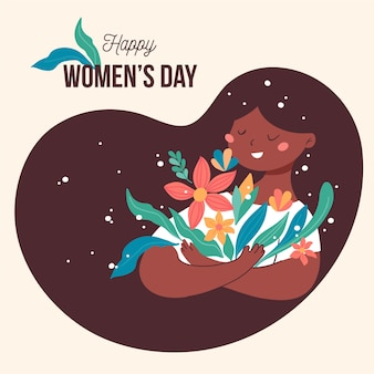 Dia da mulher floral