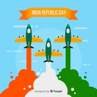 Dia da república indiana
