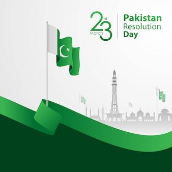Dia da resolução do paquistão