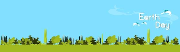 Dia da terra verde floresta árvore natureza paisagem