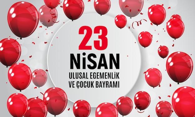Dia das crianças fala turco, nisan cumhuriyet bayrami.
