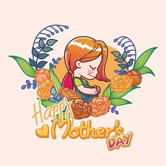 Dia das mães com mãe grávida