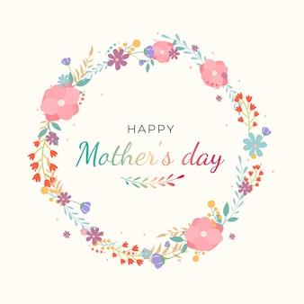 Dia das mães de design plano