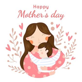 Dia das mães evento estilo simples