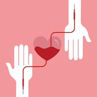 Dia de doação de sangue