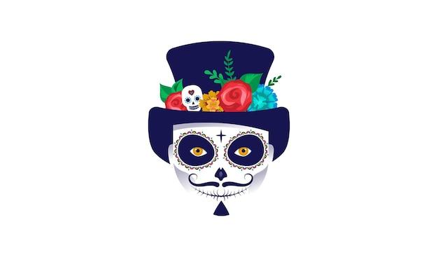 Dia de los muertos festival de feriado mexicano do dia dos mortos