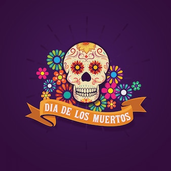 Dia de los muertos fundo