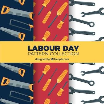 Dia, dia, padrão, ferramentas