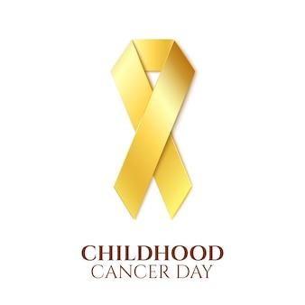 Dia do câncer infantil.