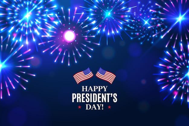 Dia do presidente de fogos de artifício