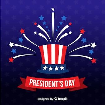 Dia do presidente plana