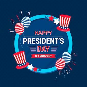 Dia do presidente plano