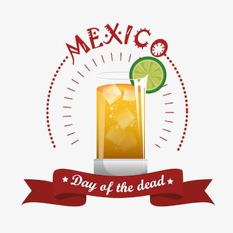 Dia do projeto de ilustração vetorial morto celebração