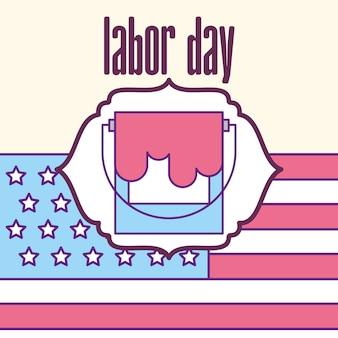 Dia do trabalho americano