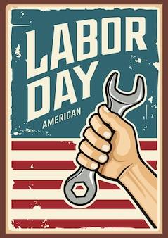 Dia do trabalho americano.