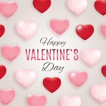 Dia dos namorados amor e design de fundo de sentimentos. ilustração vetorial