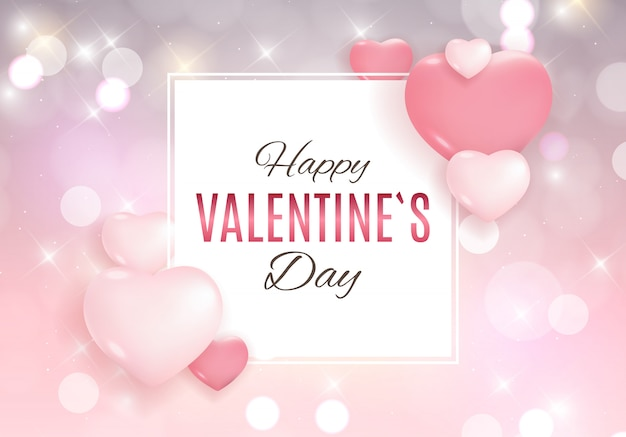 Dia dos namorados amor e sentimentos fundo design.