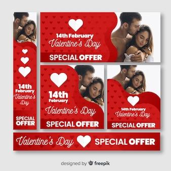 Dia dos namorados banner web