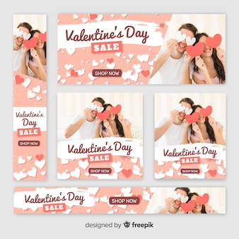 Dia dos namorados banners web