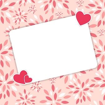 Dia dos namorados coração backgroung, ilustração vetorial