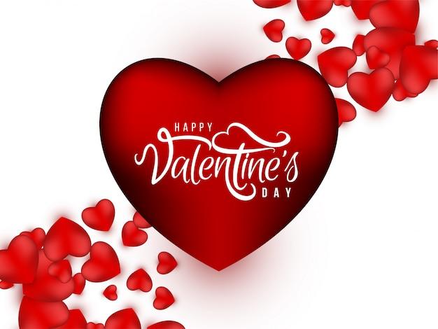Dia dos namorados lindo fundo com corações