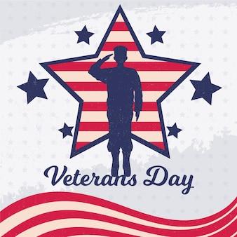 Dia dos veteranos vintage