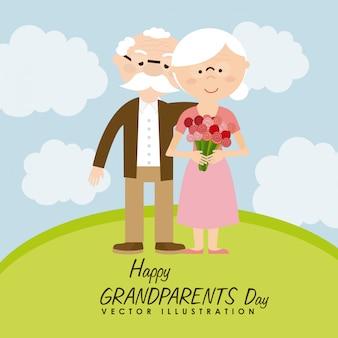 Dia feliz dos avós