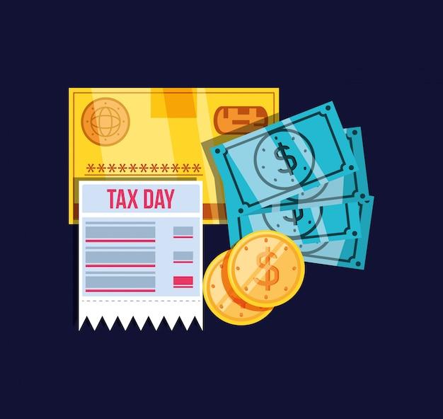 Dia fiscal com voucher