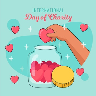 Dia internacional da caridade evet