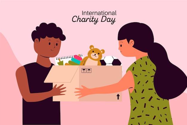 Dia internacional da caridade