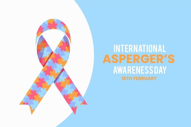 Dia internacional da conscientização do asperger