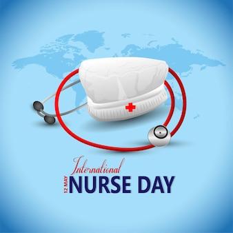 Dia internacional da enfermeira.
