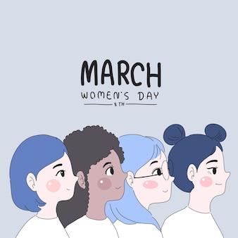 Dia internacional da mulher il