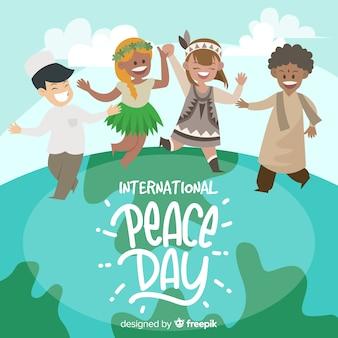Dia internacional da paz com as crianças