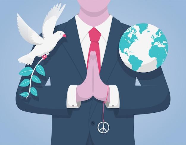 Dia internacional da paz.
